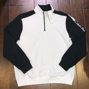 Calvin Klein quarter zipper sweater